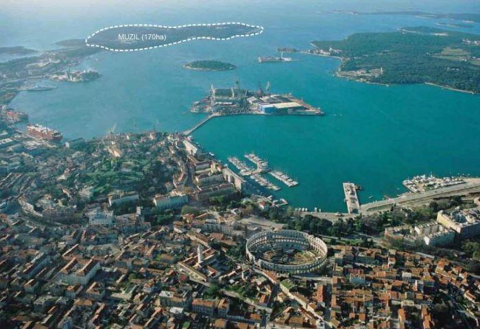 Chorvatsko - poloostrov Muzil