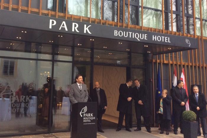 Nově otevřený hotel ve Varaždině