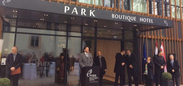 Ve Varaždíně stojí nový hotel