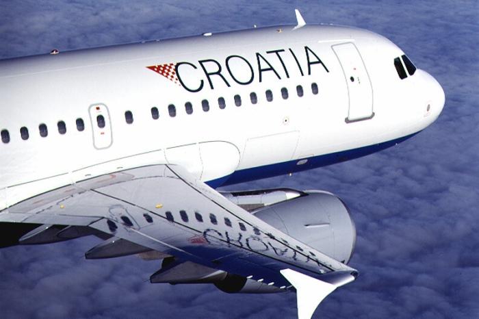 Letadlo Croatia Airlines