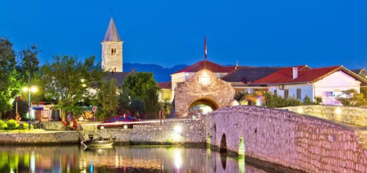 Nin v Chorvatsku je romantickou destinací Evropy