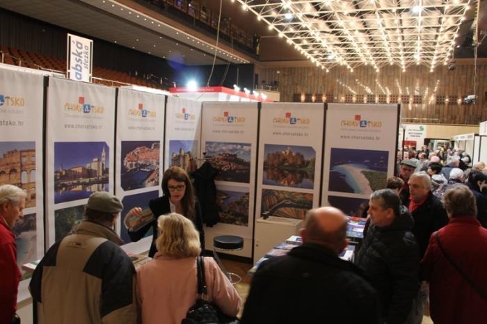 Chorvatský stánek na veletrzích cestovního ruchu