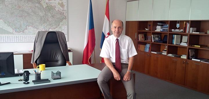 Česko mění svého velvyslance v Chorvatsku
