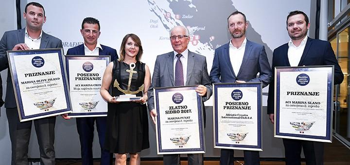 Novinářskou cenu získala marina Punat na Krku