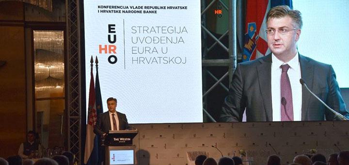 Chorvatsko pomalu míří do eurozóny