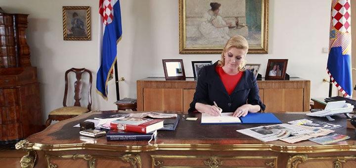 Chorvatská prezidentka je 39. nejmocnější ženou světa