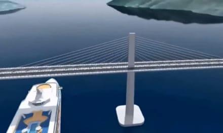 Jak bude vypadat nový most na Pelješac? Podívejte se na video