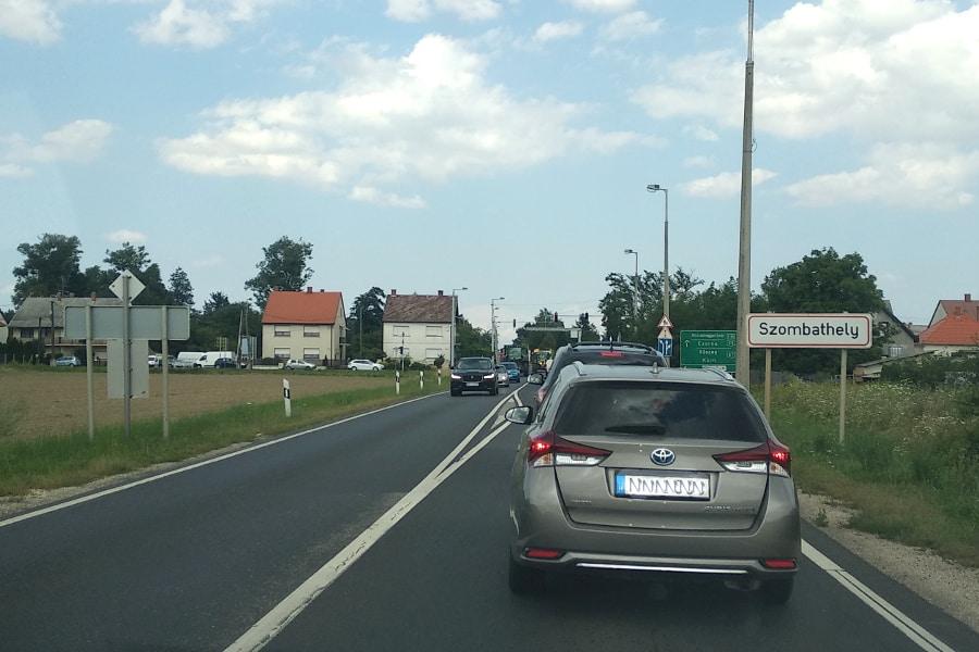Cesta do Chorvatska přes Maďarsko