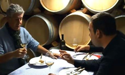 Kuchař Anthony Bourdain v Chorvatsku
