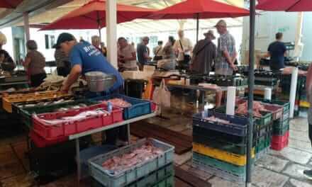 Rybí trh ve Splitu nesmíte minout