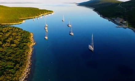 Krásné záběry z dovolené na lodi