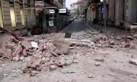 Chorvatský Záhřeb postihlo dnes ráno zemětřesení